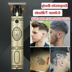 2020 New Cordless Zero Gapped Trimmers Portable Strong Hair