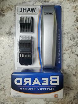 WAHL BEARD BATTERY TRIMMER 5 POSITION GUIDE COMPLETE PRECISI