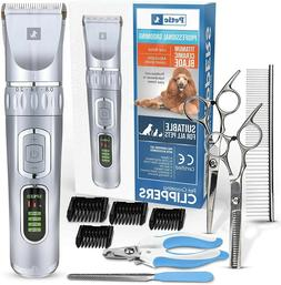 Dog Clippers Professional Dog Grooming Clipper Low Noise Rec