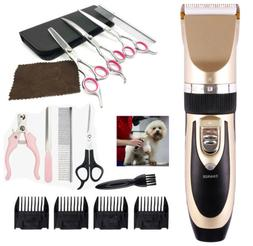 Electric Dog Hair Trimmer Shaver Razor Grooming Clippers Cor