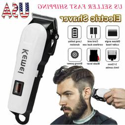 Electric Professional Hair Clipper Trimmer Rechargeable LCD