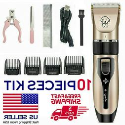 Electrical Hair Trimmer Shaver Pet Dog Professional Hair Cli
