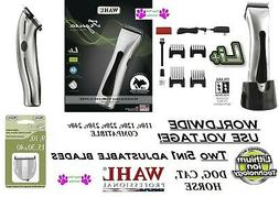 Wahl FIGURA PRO Lithium Ion CORDLESS Clipper KIT*2--5 in 1 B