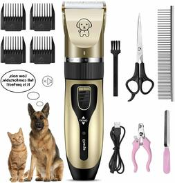 Grooming Kit for Dogs Electrical Hair Trimmer Shaver  Profes