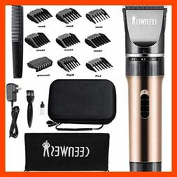 Ceenwes Hair Clippers Cordless Quiet Hair Trimmers Rechargea
