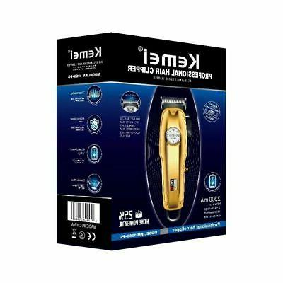 Kemei pg All-metal Professional Cordless / Trimmer Gold