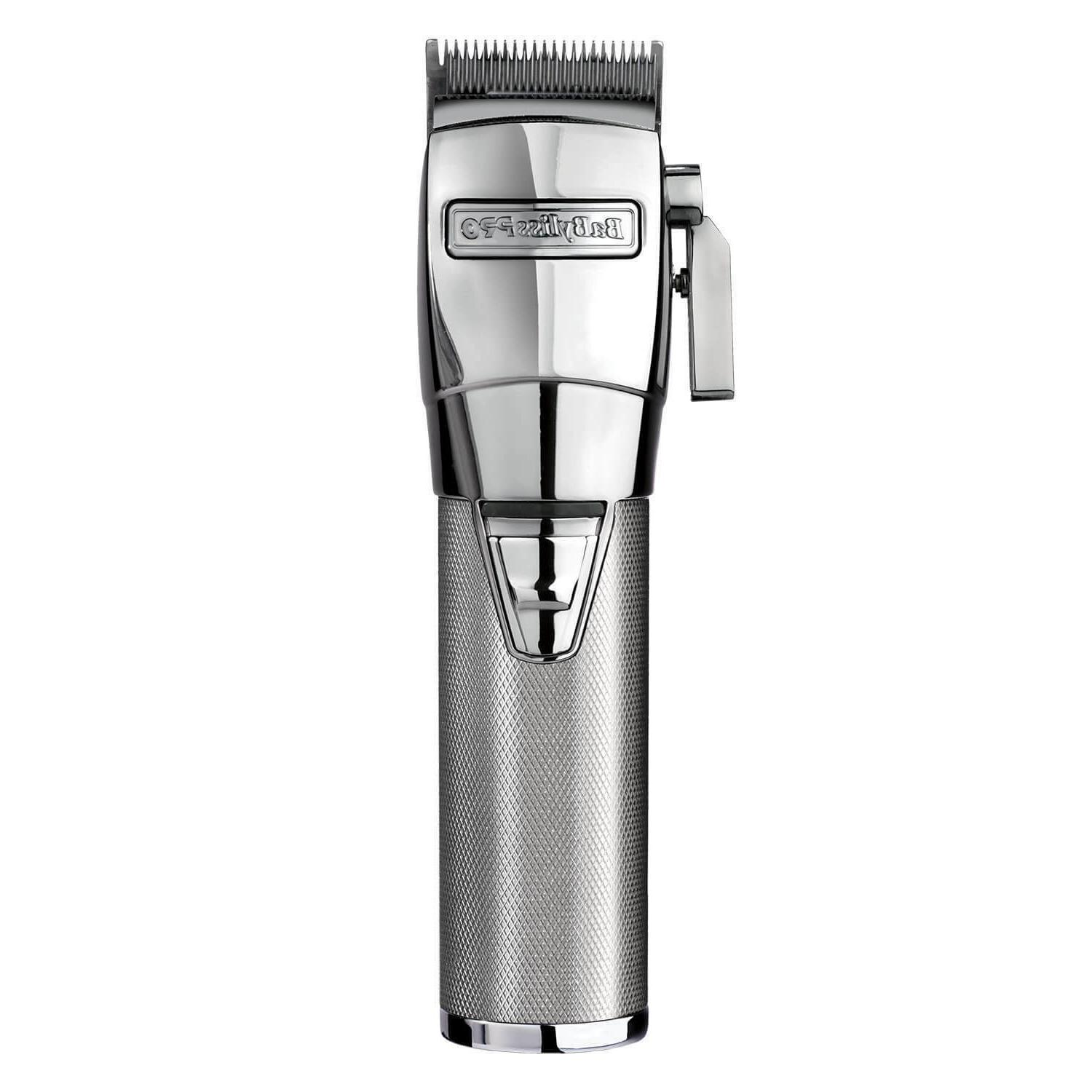 silver cordless lithium ion adjustable clipper fx870s