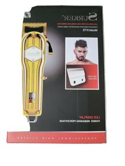 Surker Model:K7S hair clippers opened box fast free shipping