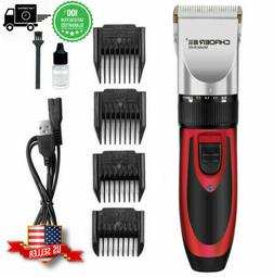 Pet Dog Cat Grooming Clippers Hair Trimmer Fur Shaver Razor