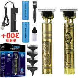 Kemei Hair Clippers Trimmer Cordless T-Outliner Shaving Mach