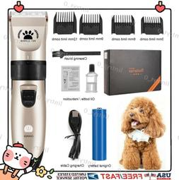 Profession Dog Hair Shaver Cats Pets Clippers Low Noise Cord