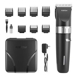 Woner Hair Clippers, Cordless Rechargeable Hair Trimmer For